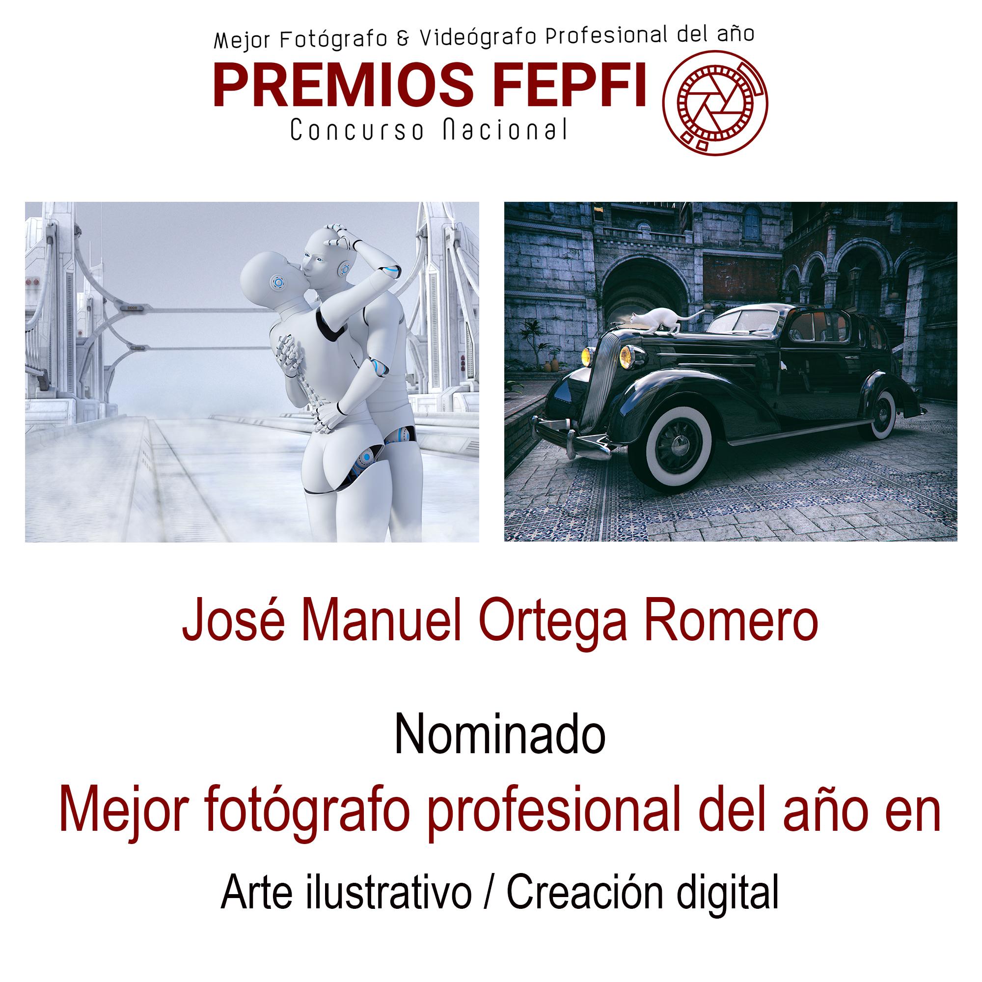 Nominado a fotografo español del año.